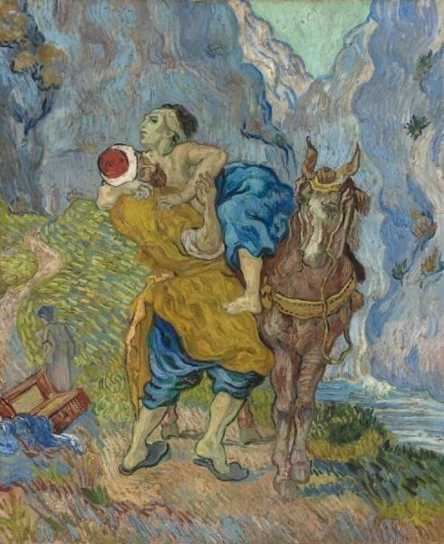 De barmhartige samaritaan naar delacroix kr ller m ller museum - Van gogh comedores de patatas ...
