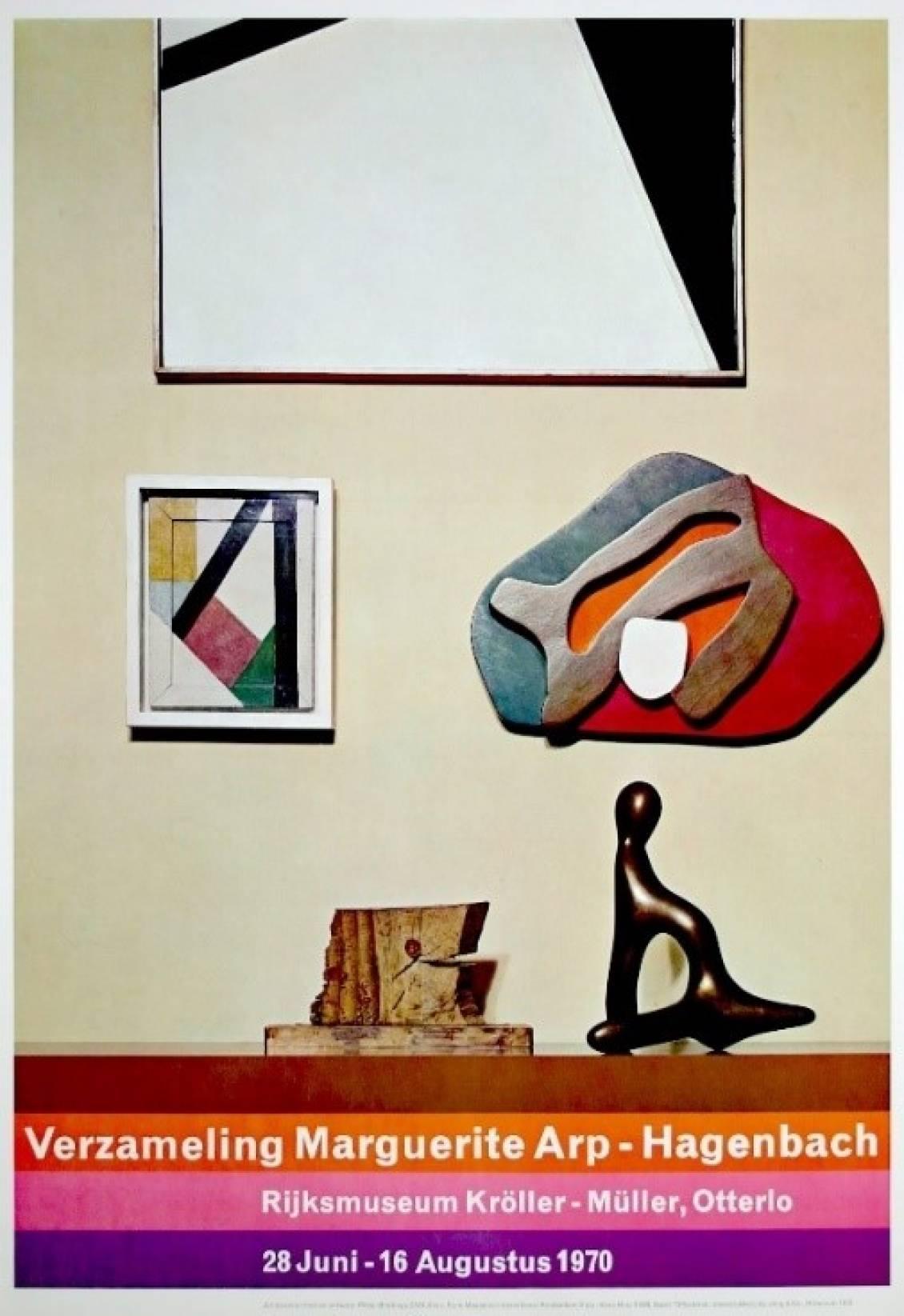 Poster Verzameling Marguerite Arp-Hagenbach, 1970