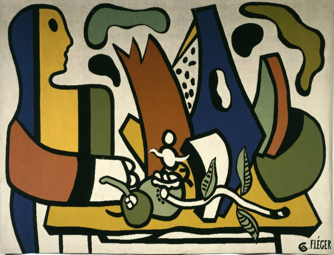Fernand Léger, Personage en stilleven, 1951