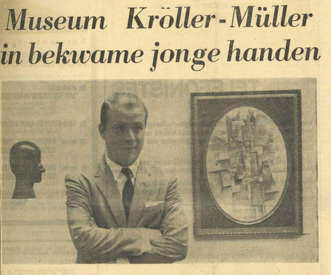 'Museum Kröller-Müller in adept young hands'