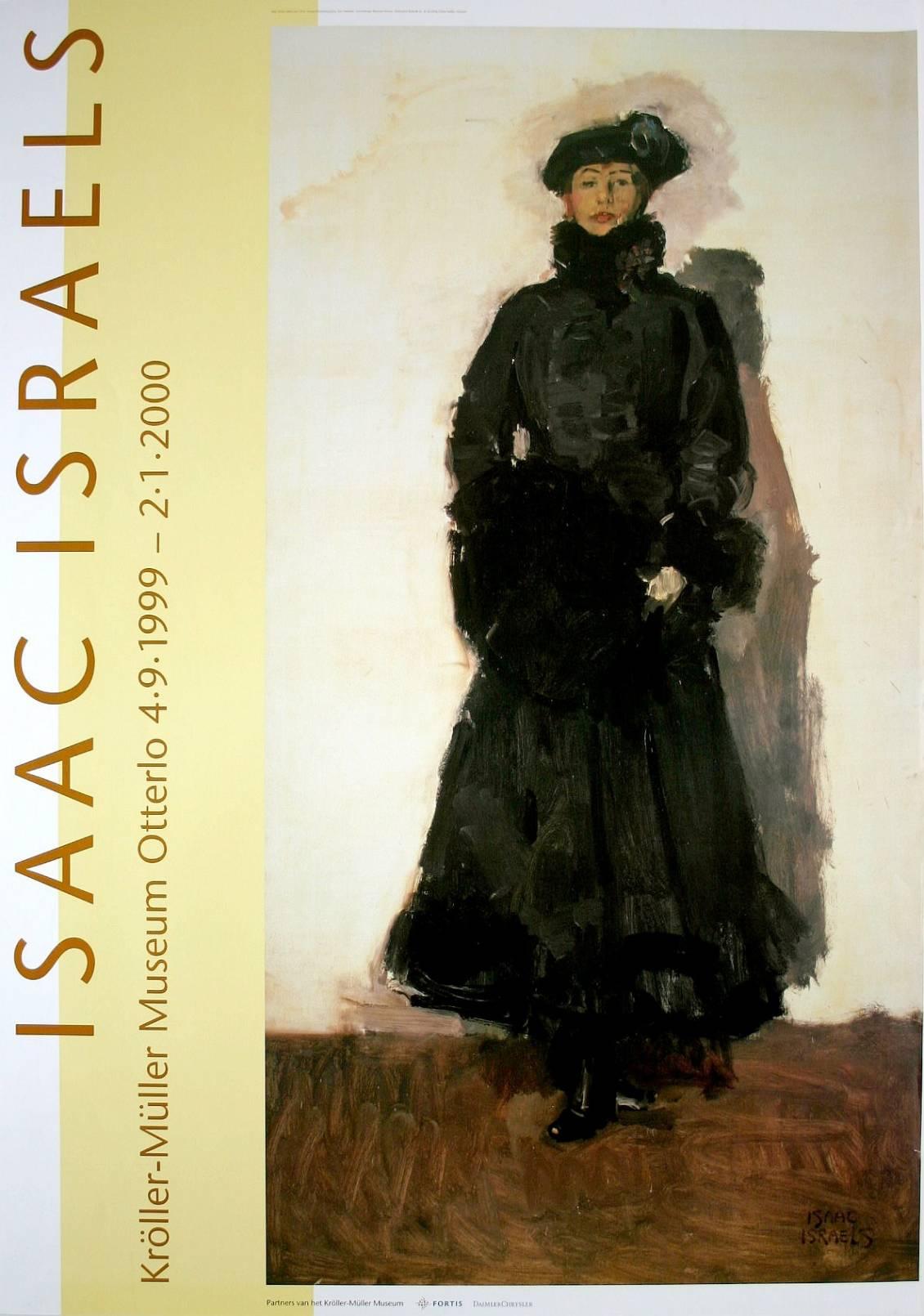 Affiche Isaac Israels, 1999