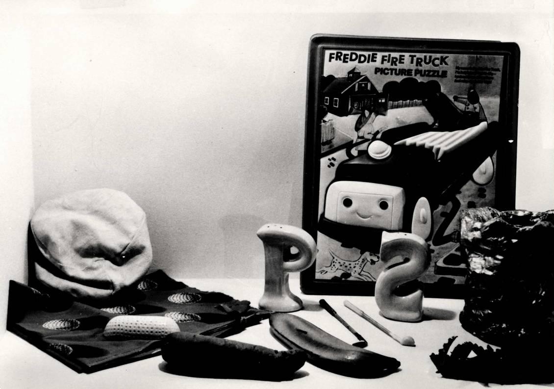Claes Oldenburg, selectie tentoongestelde verzameling, 1979