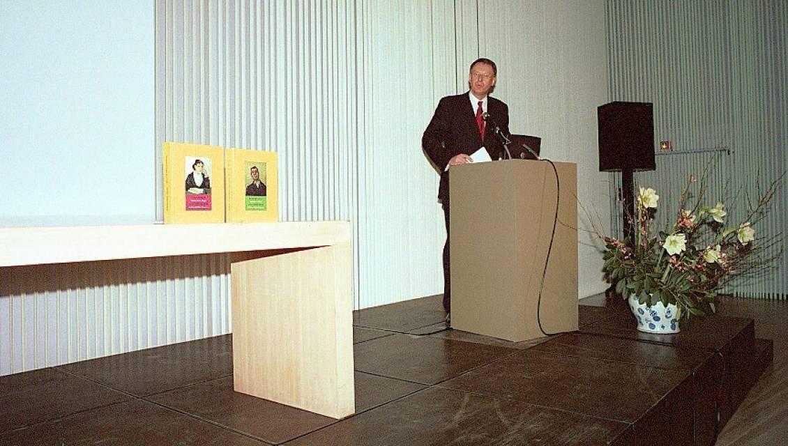 Presentatie van de collectiecatalogi Van Gogh, 2007