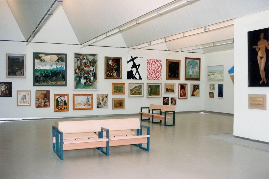 Tentoonstellingsoverzicht 'Depot op zaal', 1994