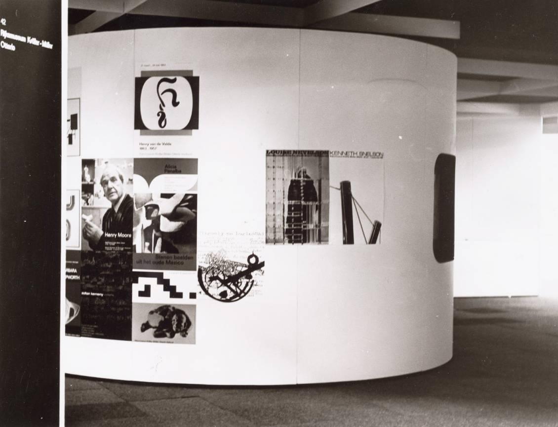 Pieter Brattinga; affiches voor het Rijksmuseum Kröller-Müller, 1980