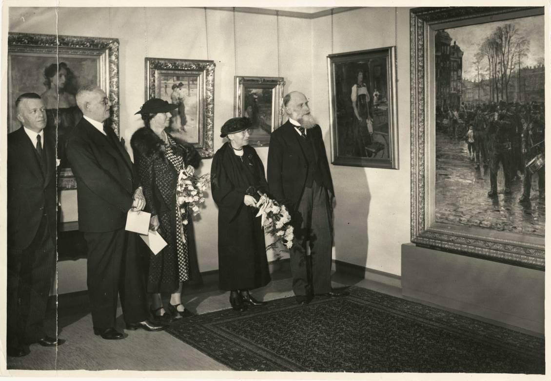Opening of Rijksmuseum Kröller-Müller, 13 juli 1938