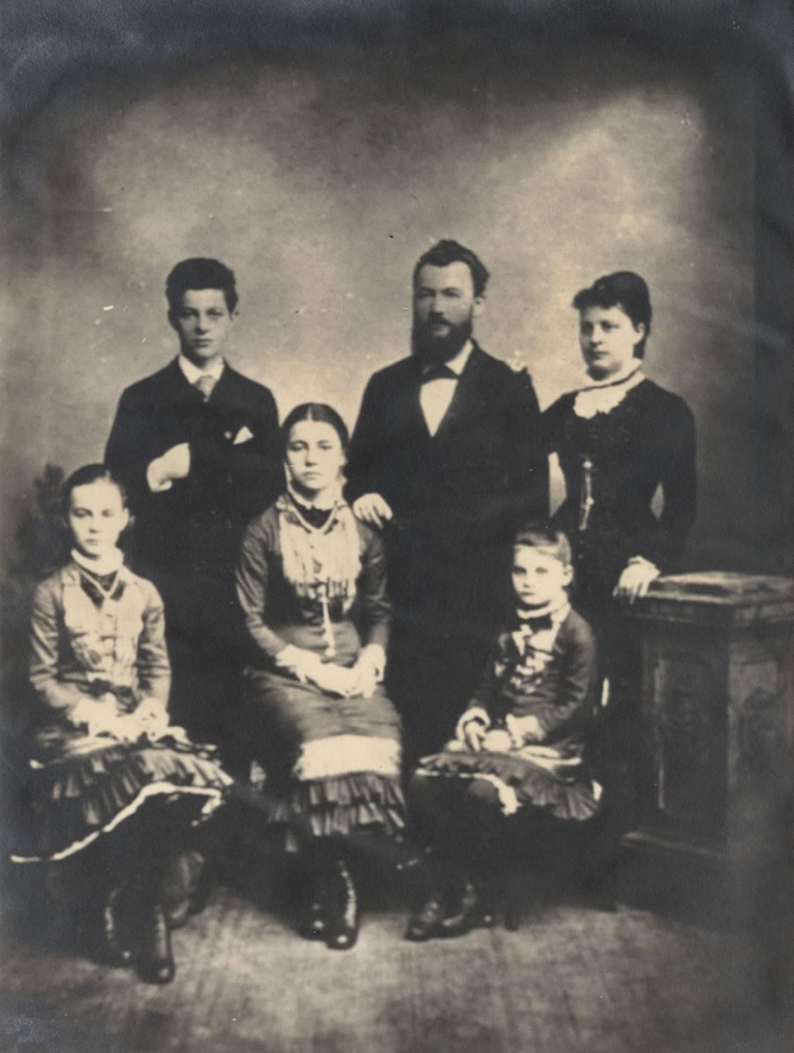 Familie Müller, circa 1880