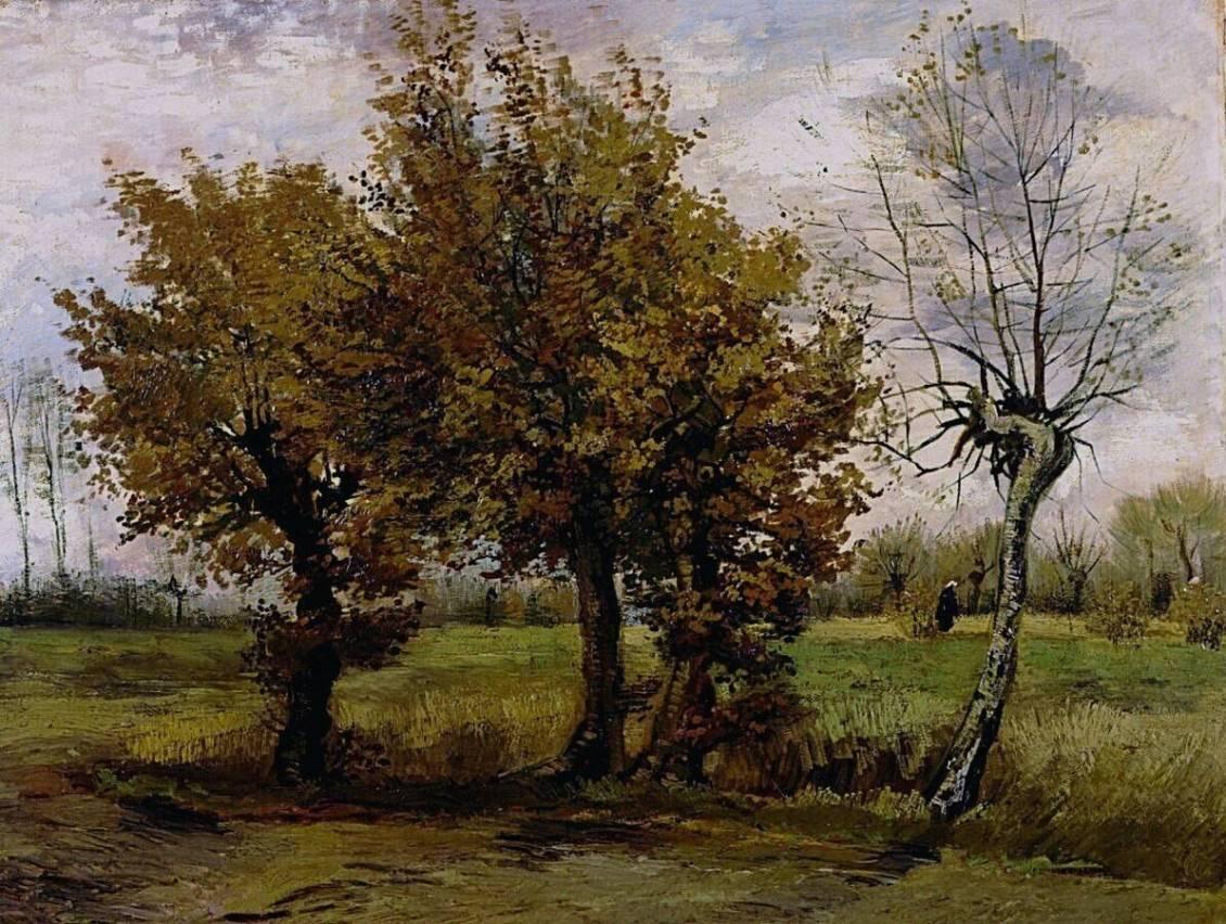 Vincent van Gogh, Autumn landscape, 1885