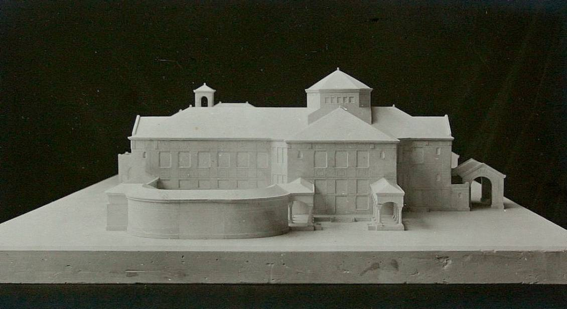 H.P. Berlage, Design for the Ellenwoude estate in Wassenaar (plaster model)