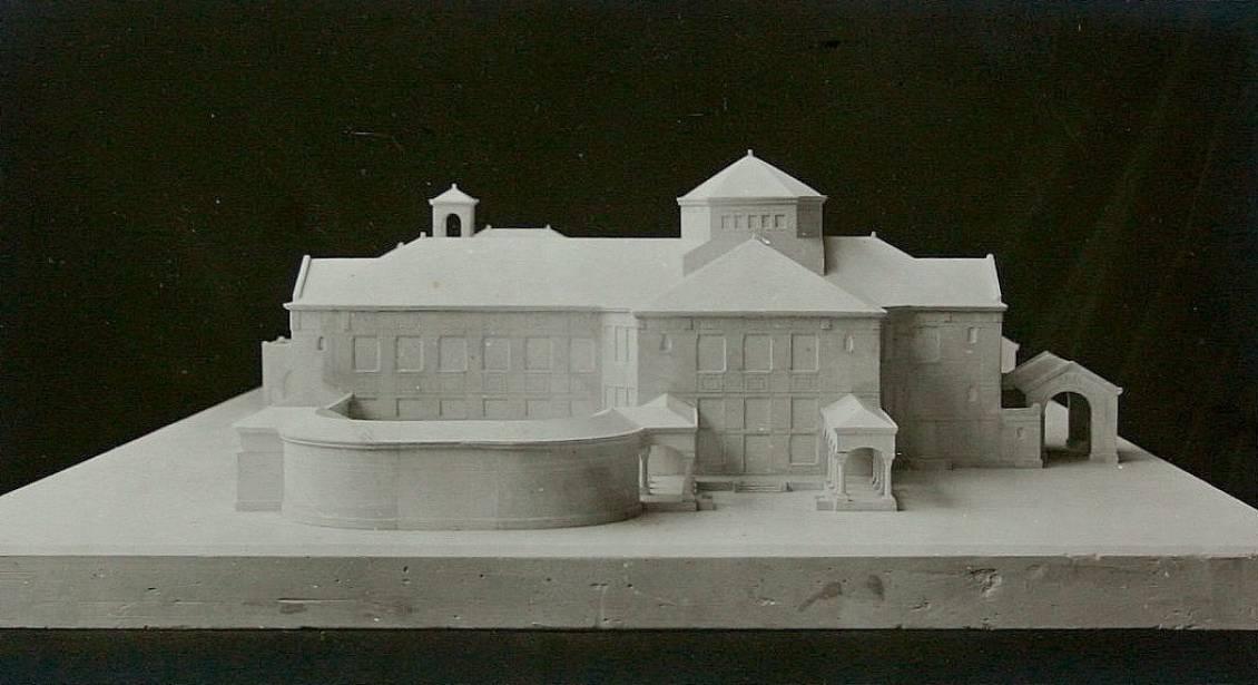 H.P. Berlage, Maquette voor landhuis Ellenwoude te Wassenaar, circa 1912