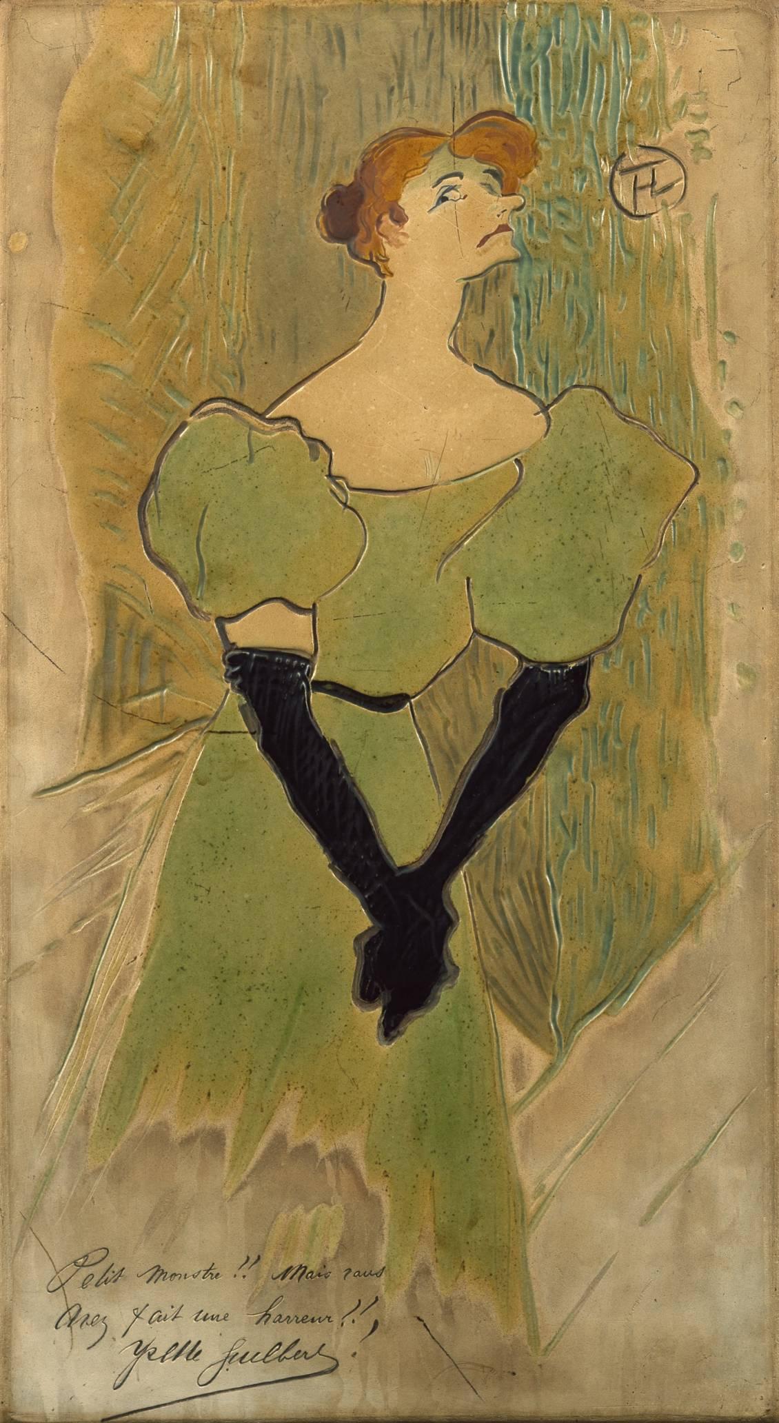 Henri de Toulouse-Lautrec, Yvette Guilbert, 1895