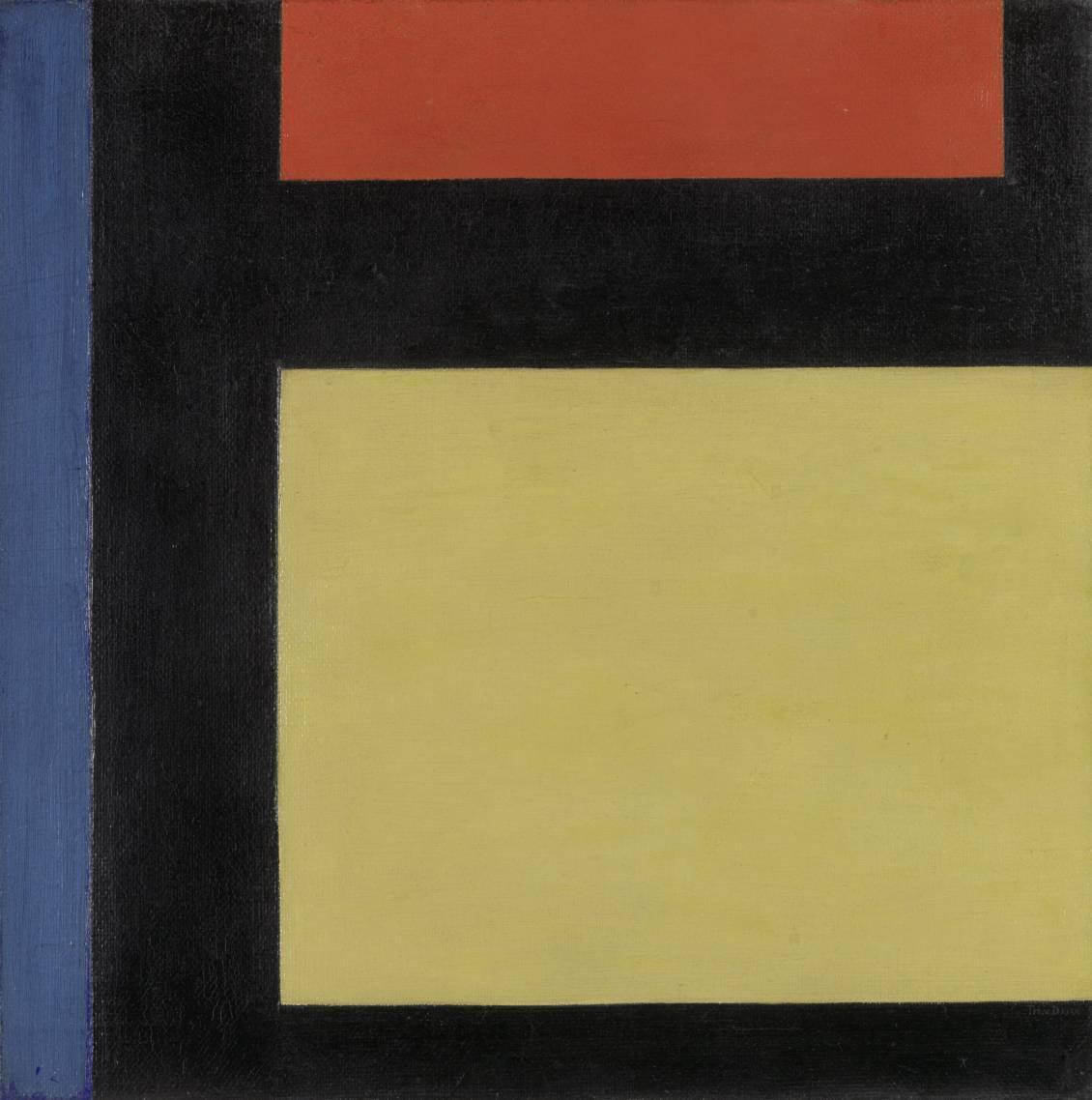 Theo van Doesburg, Contra-compositie X, 1924