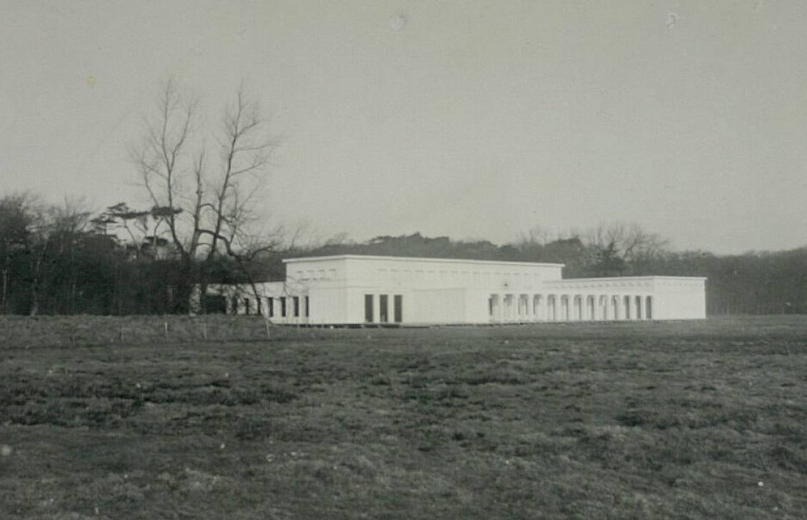 Ludwig Mies, Ontwerp voor landgoed Ellenwoude te Wassenaar: model op ware grootte, 1912.
