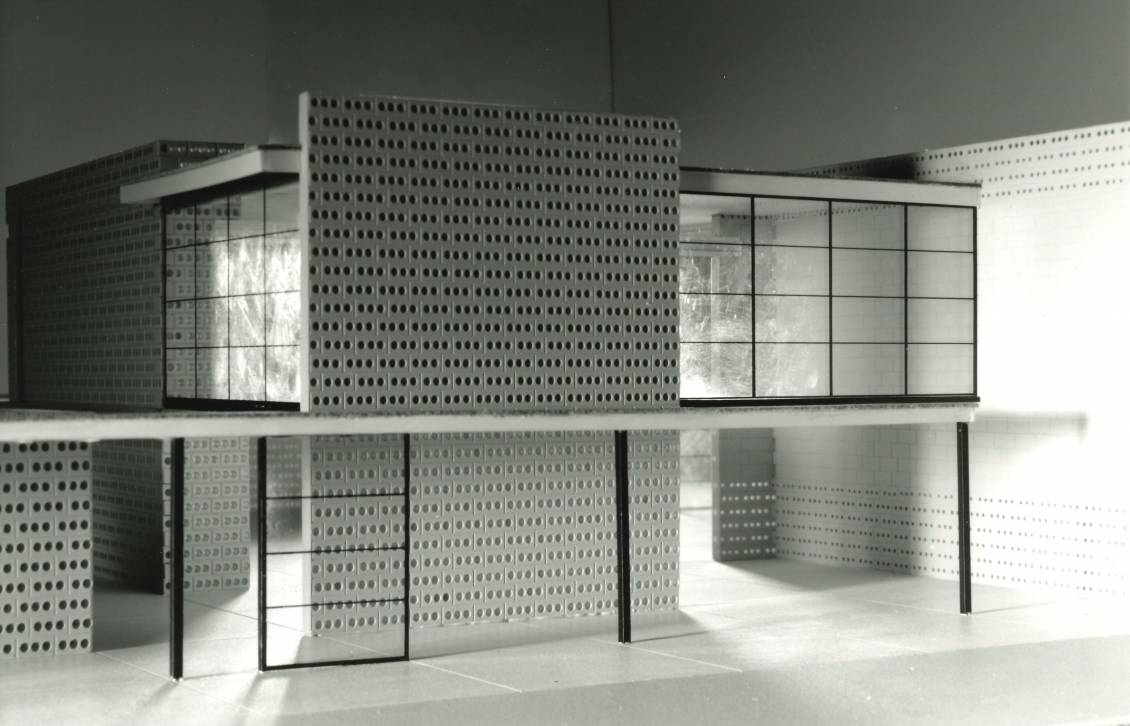 Maquette Rietveldpaviljoen