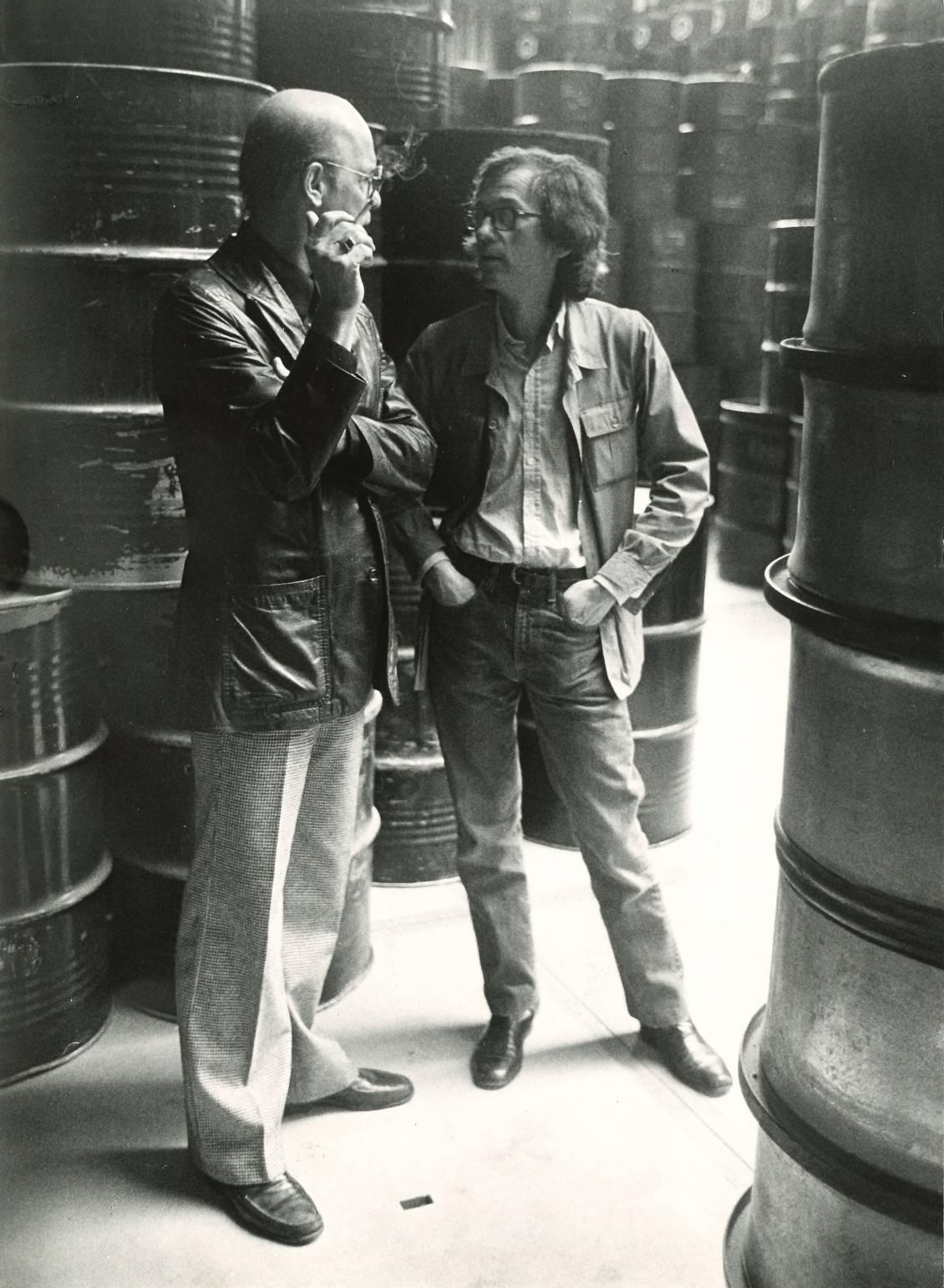 Martin Visser met Christo