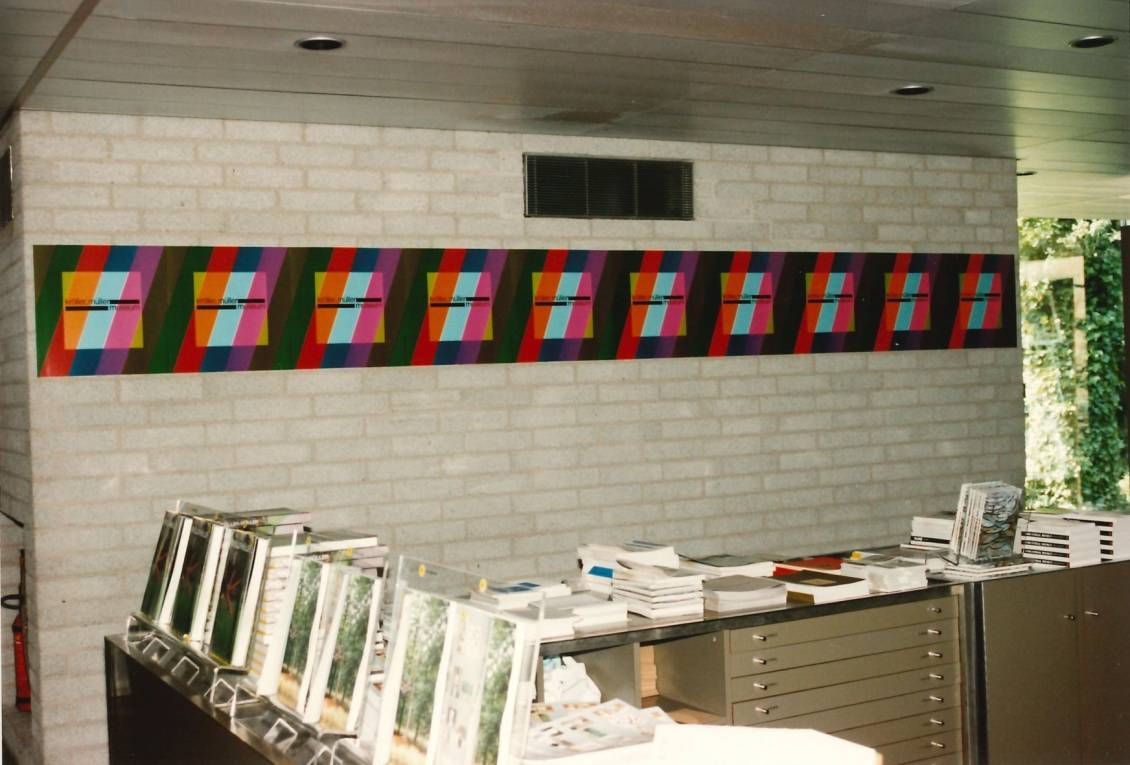 (Part of) Museum shop after design by Wim Quist, 1997