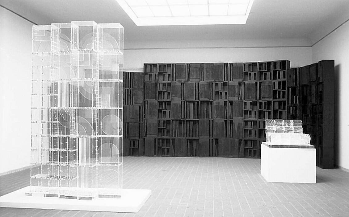 Nevelson, Transparent sculpture V, 1967