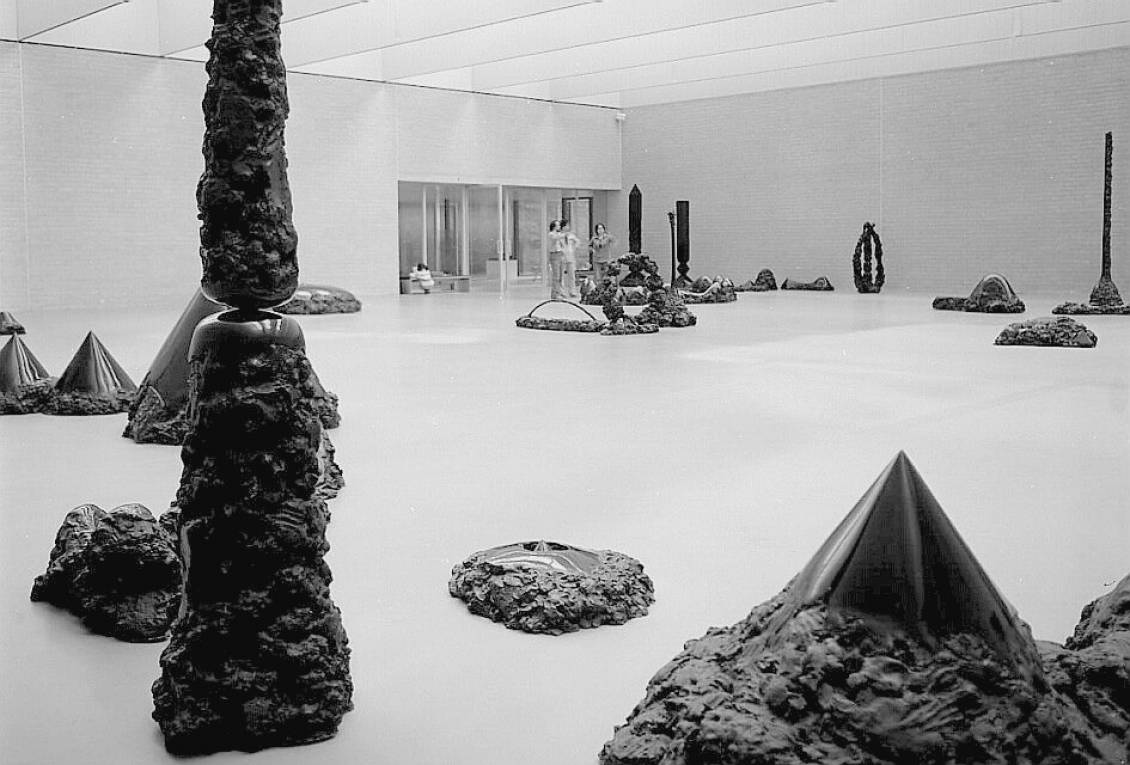 Tentoonstelling Nobuo Sekine, 1978