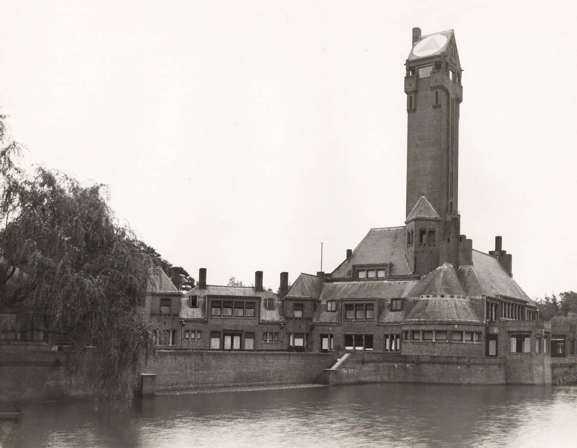 Jachthuis Sint Hubertus met luchtsymbool Cultureel Erfgoed
