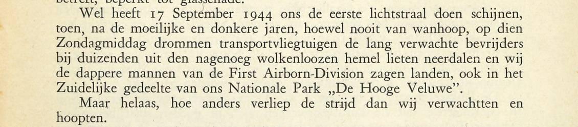 Detail uit jaarverslag van Rijksmuseum Kröller-Müller, 1944-1945