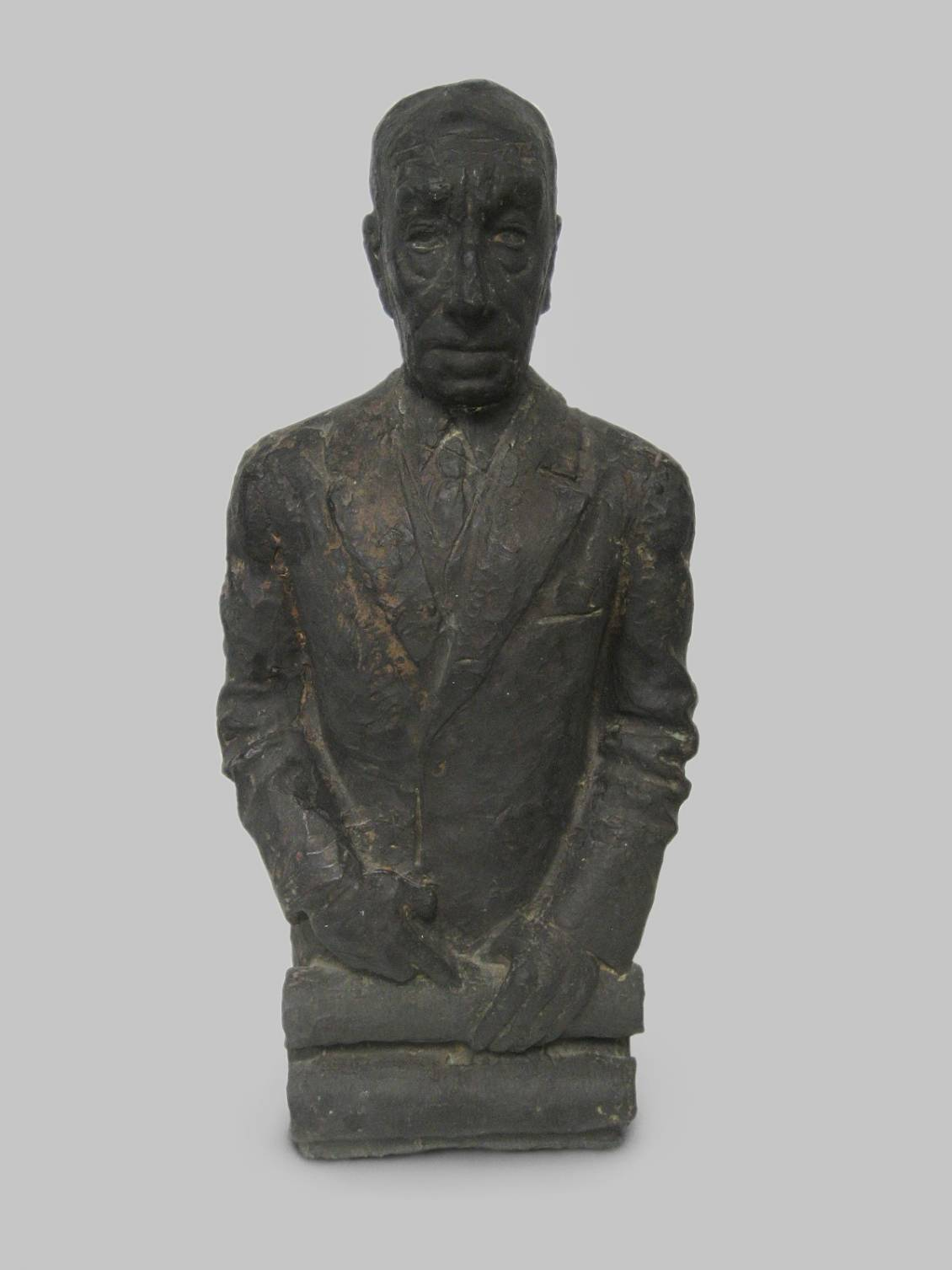 John Rädecker, Bronze bust of Henry van de Velde, donation of Mrs. Rädecker in 1957
