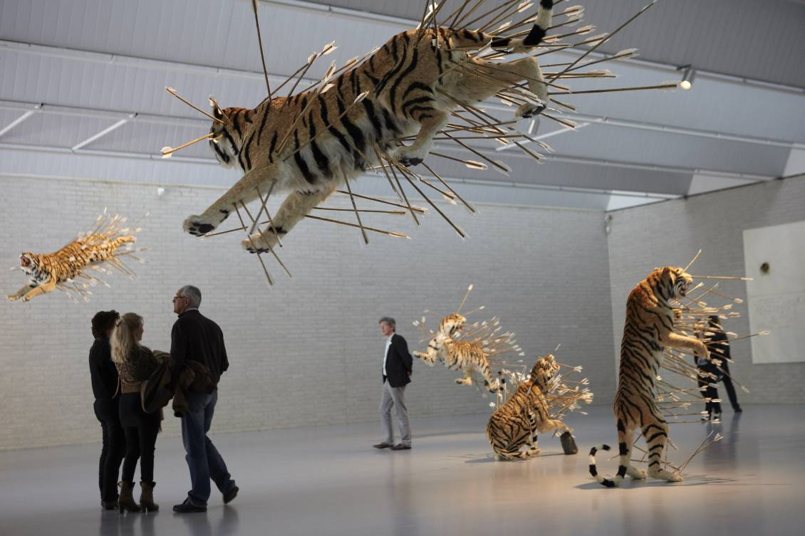 Cai Guo-Qiang, Inopportune: Stage two, 2004