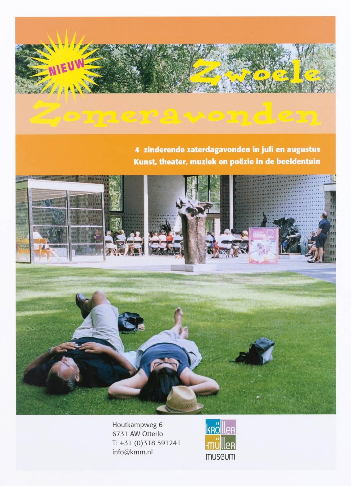 Affiche 'Zwoele Zomeravonden', 2006