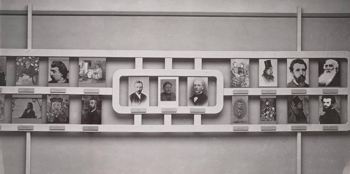 THerdenkingstentoonstelling Vincent van Gogh, 1953