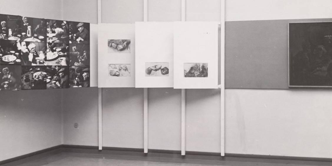 Herdenkingstentoonstelling Vincent van Gogh, 1953
