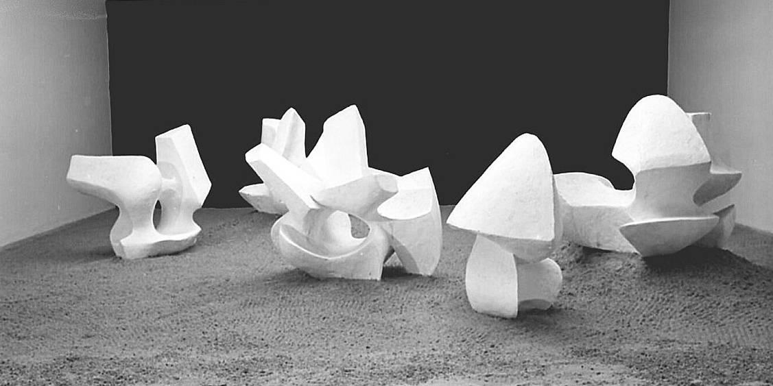 Tentoonstelling Alicia Penalba, 1964