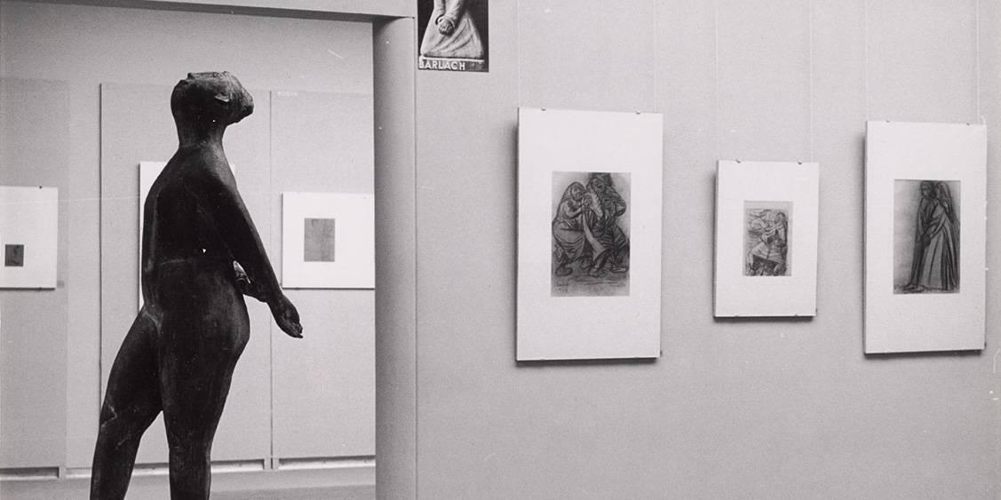 Tentoonstelling Tekeningen van beeldhouwers, 1959