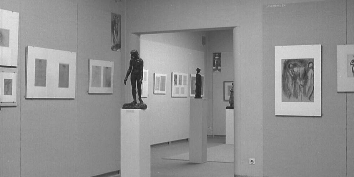 Exhibition Drawings by sculptors, 1959