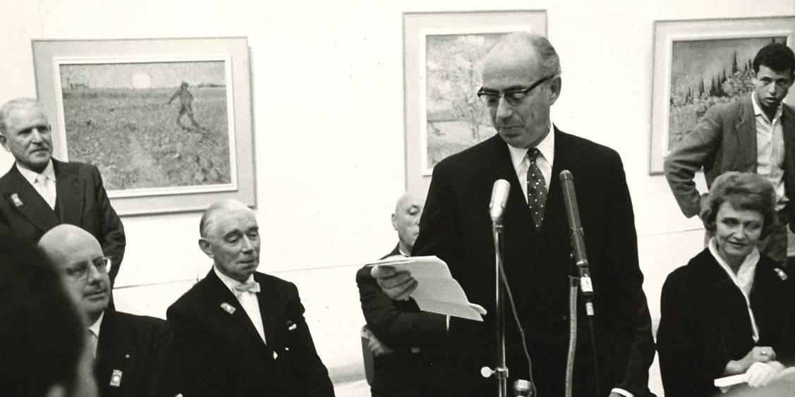 Van Gogh in Israël, Opening in Tel Aviv, 1963