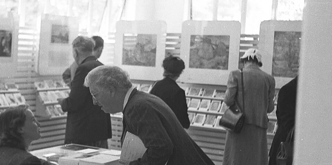 Museum shop, 1953
