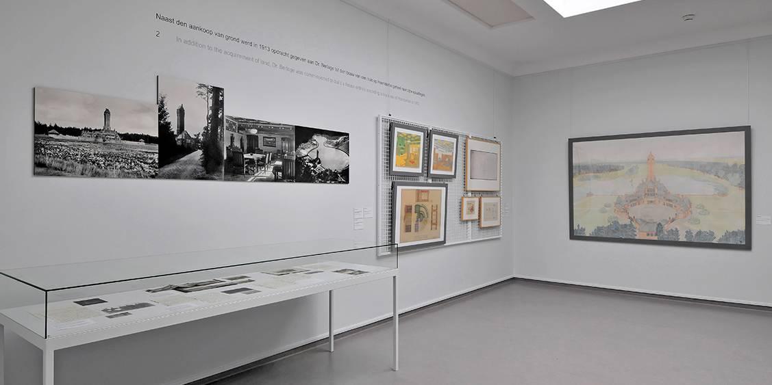 Tentoonstellingsoverzicht 'Het scheppen van een blijvend monument', 2010