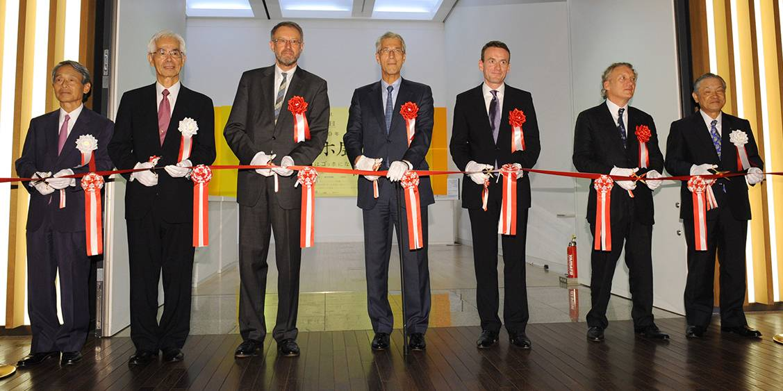 Opening in Tokyo, 2010