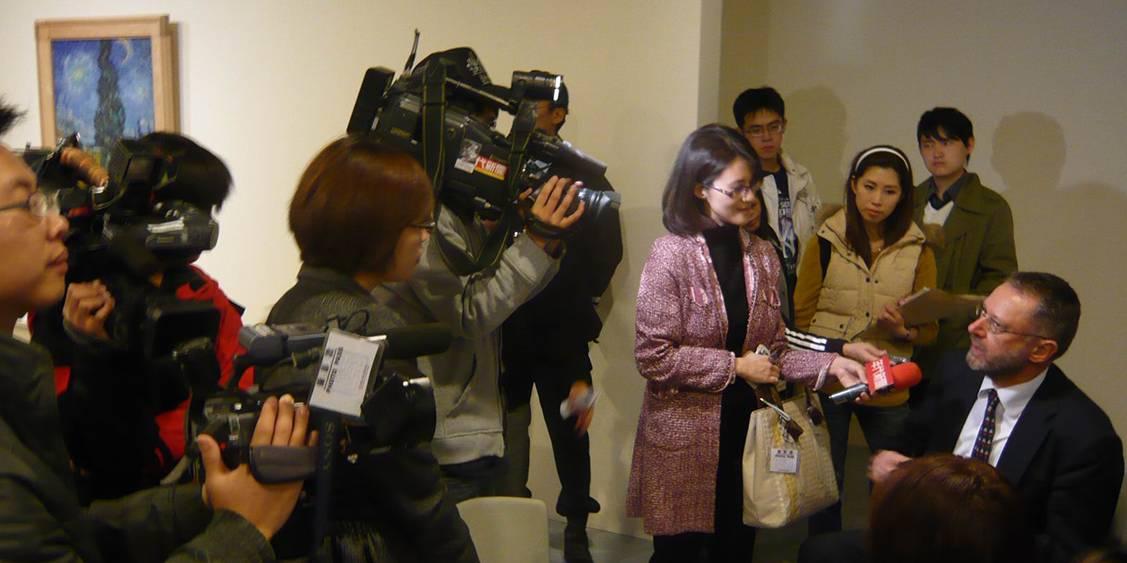 Persopening in Taipei, 2010