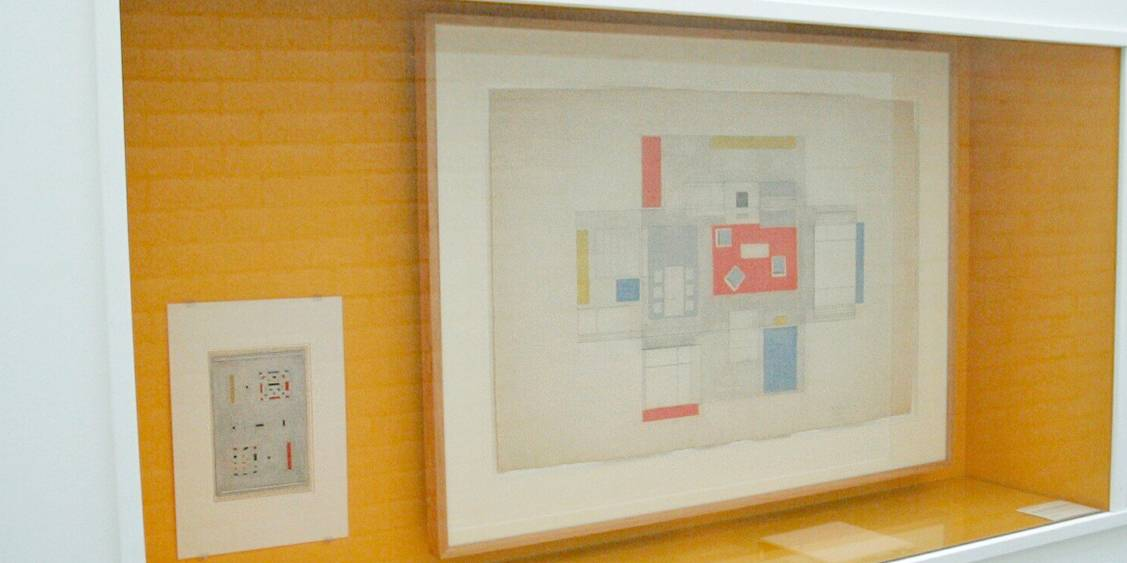 Tentoonstelling Bart van der Leck, 2004