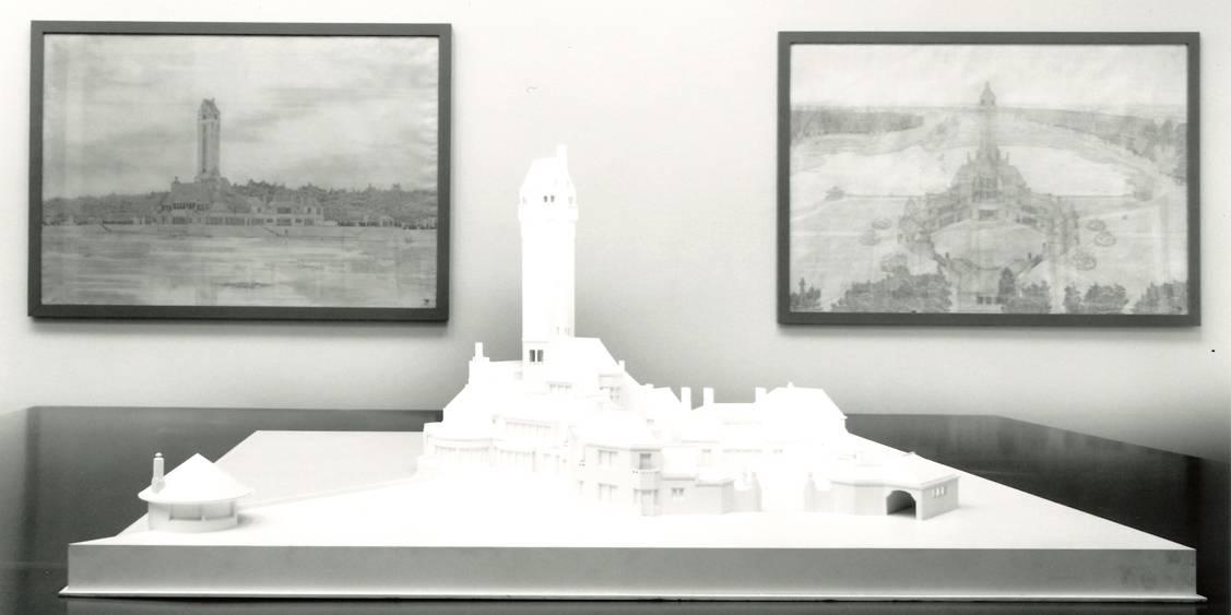 Tentoonstelling De Kröllers en hun architecten, 1992