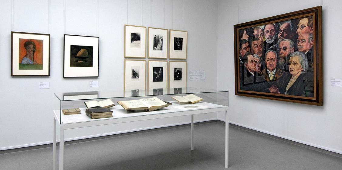 Tentoonstellingsoverzicht 'De mannen van Helene – Het leven, de liefde, de kunst en het bouwen', 2010