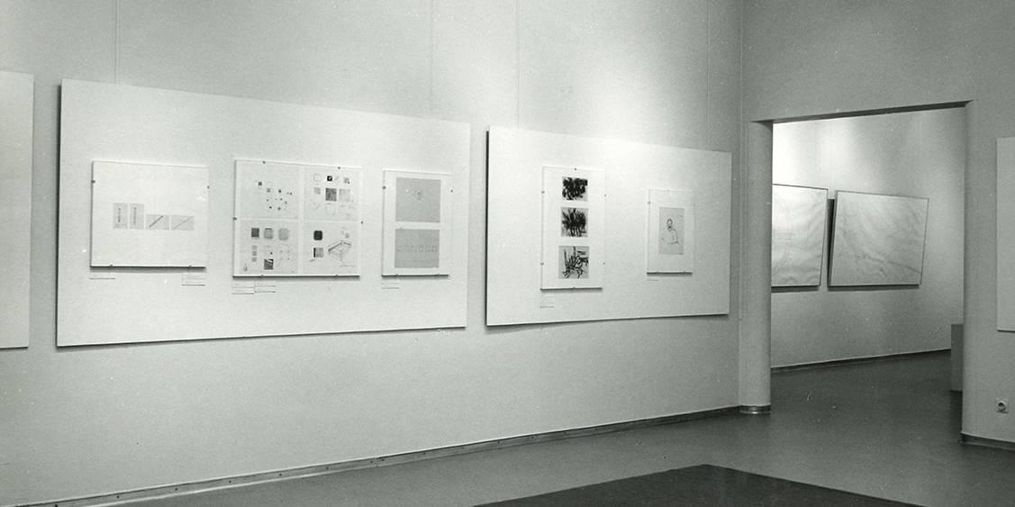 Tentoonstelling Diagrams & Drawings, 1972