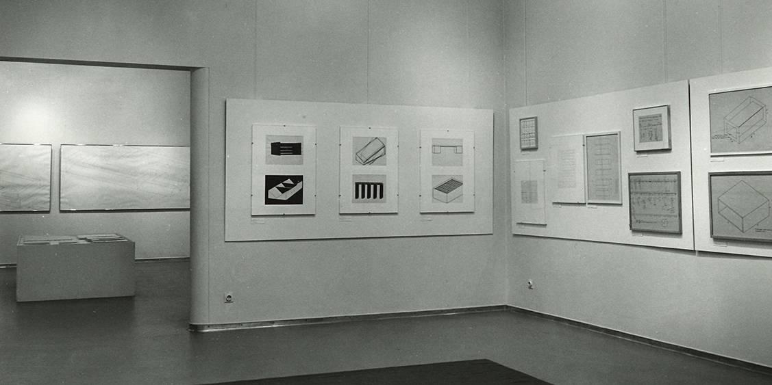 Exhibition Diagrams & Drawings, 1972