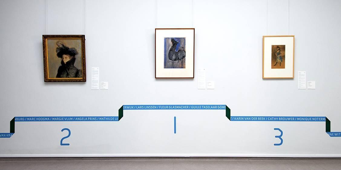 Tentoonstellingsoverzicht 'Expose – De allermooiste werken op papier', 2010