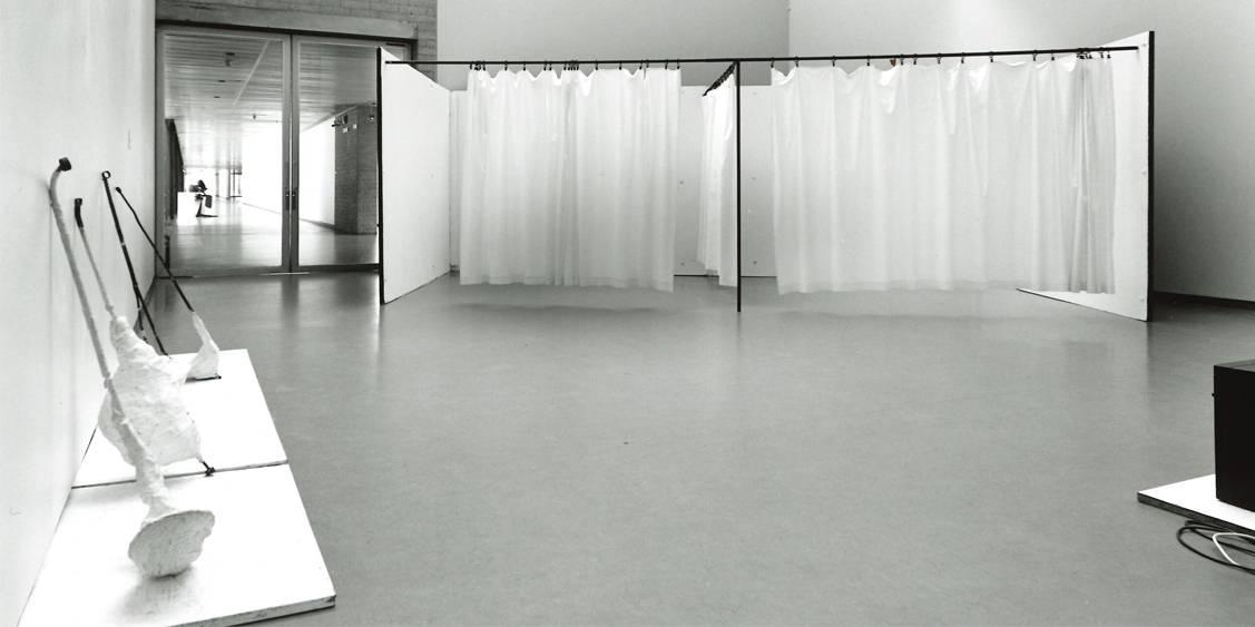 Tentoonstellingsoverzicht 'Franz West', 1997
