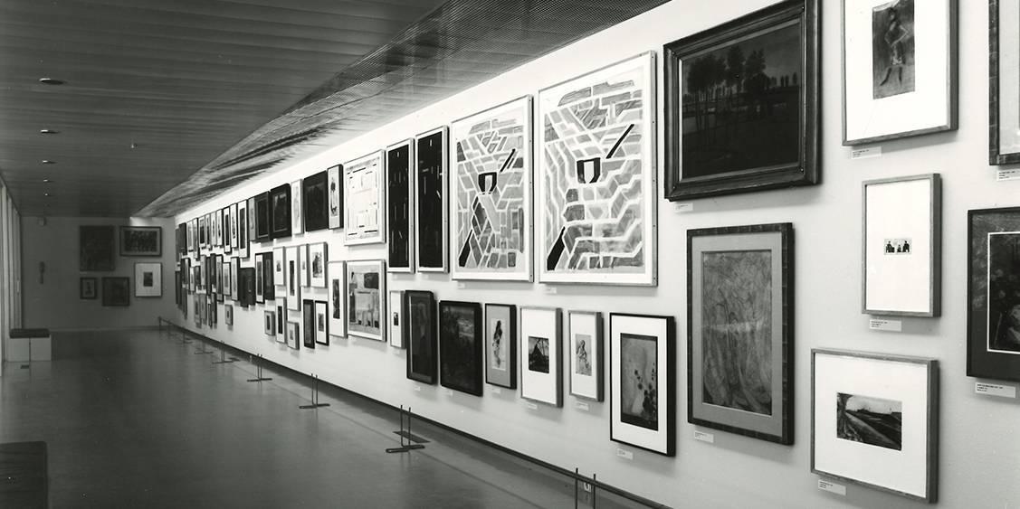 Tentoonstelling 'Hele collectie in een half museum', 1987