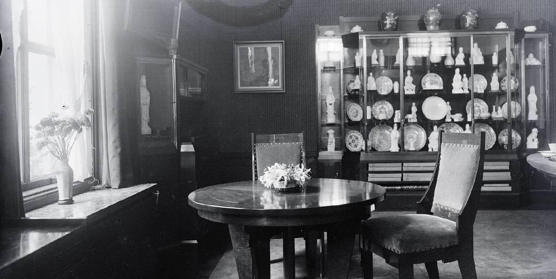 H.P. Berlage, Groot Haesebroek te Wassenaar, kunstkamer, tussen 1924-1930