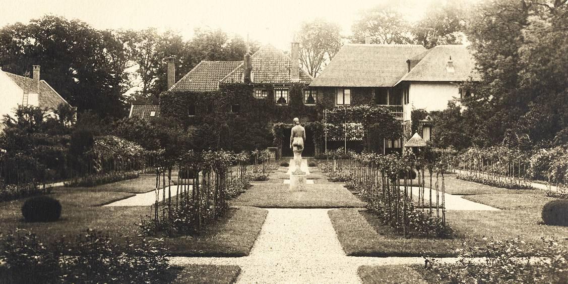 H.P. Berlage, Groot Haesebroek te Wassenaar, tuin, tussen 1924-1930