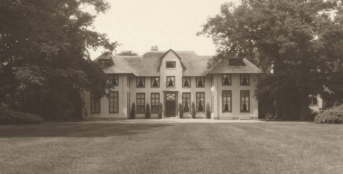 H.P. Berlage, Groot Haesebroek te Wassenaar, voorzijde, tussen 1924-1930