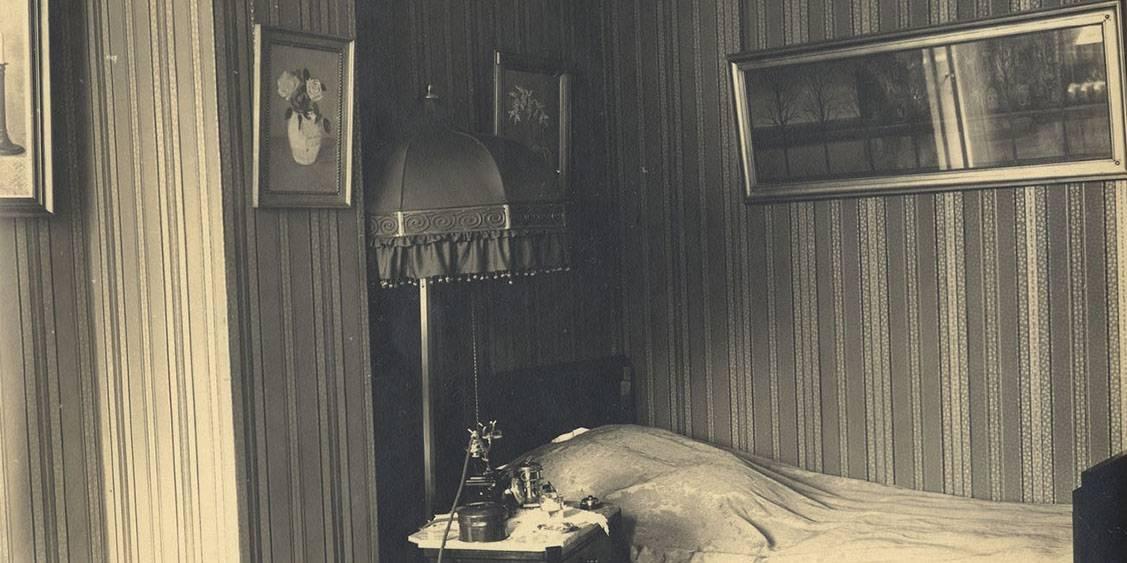 H.P. Berlage, Groot Haesebroek te Wassenaar, interieur, tussen 1924-1930