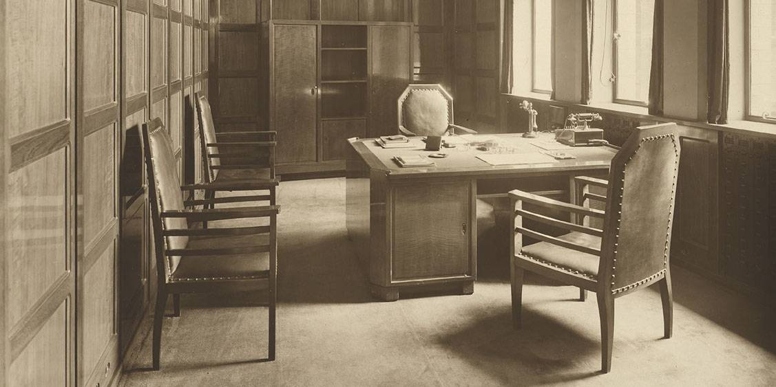 H.P. Berlage, Holland House, circa 1916